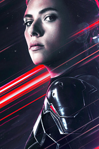 1280x2120 4k Black Widow 2020 Movie New