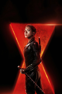 4k Black Widow 2020 Poster