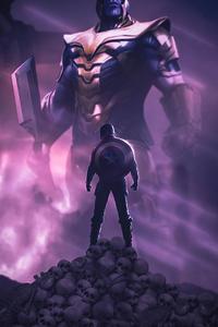 640x1136 4k Captain America 2020