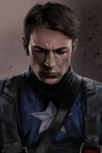 4k Captain America Art