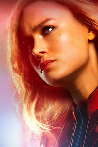 640x1136 4k Captain Marvel 2020