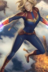 4k Captain Marvel New