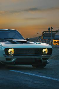 1125x2436 4k Chevrolet Camaro