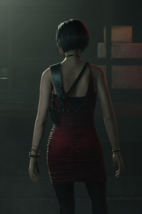 480x854 4k Claire Redfield Resident Evil 2
