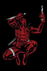 4k Deadpool Minimalism