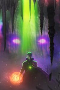 800x1280 4k Doctor Strange Artwork 2020