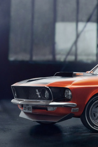 240x400 4k Ford Mustang