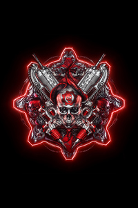 2160x3840 4k Gears Of War