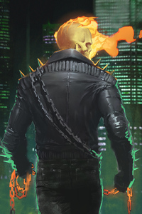 750x1334 4k Ghost Rider 2020 Artwork