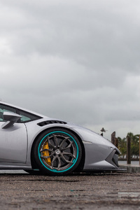 4k Grey Lamborghini Huracan 2019 New