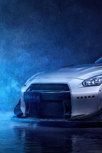 4k Grey Nissan Gtr 2020