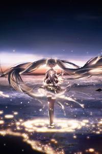4k Hatsune Miku Vocaloid Anime
