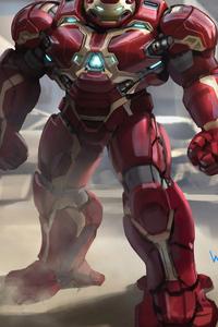 4k Hulkbuster Artwork