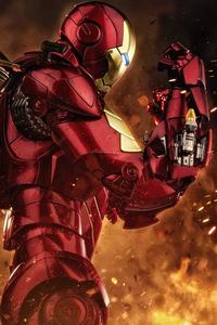 320x568 4k Iron Man 2019