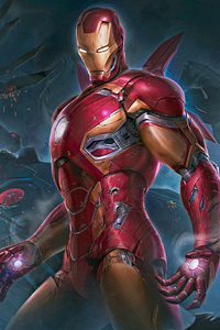 320x480 4k Iron Man 2020 Arts