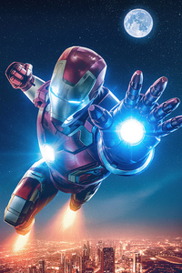 540x960 4k Iron Man Artwork 2020