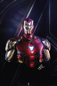 4k Iron Man Avengers Endgame