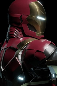 4k Iron Man Cgi