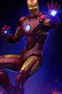 4k Iron Man Holographic 2020