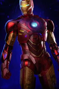 4k Iron Man Holographic
