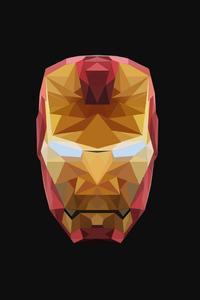 4k Iron Man Low Poly