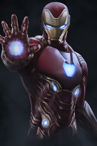 4k Iron Man Newart