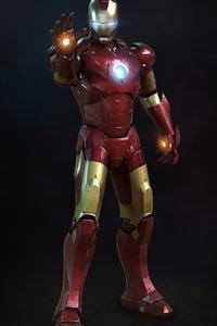 1280x2120 4k Iron Man2020