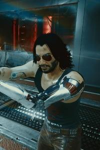 1125x2436 4k Johnny Silverhand Cyberpunk 2077 New Game