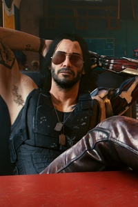 1440x2960 4k Johnny Silverhand Cyberpunk 2077 New