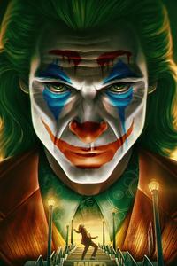 4k Joker Face Closeup