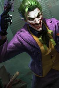 2160x3840 4k Joker King