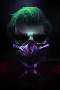 1242x2688 4k Joker Mask