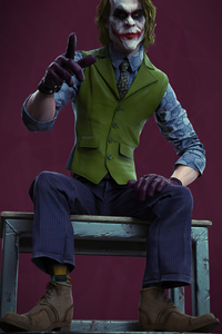 4k Joker Sitting