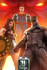 720x1280 4k Justice League Superheroes