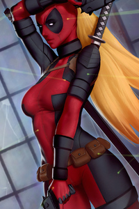 4k Lady Deadpool