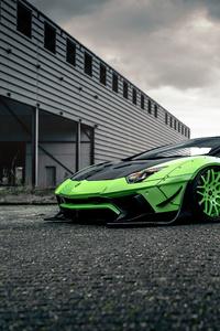 1080x2280 4k Lamborghini Huracan Liberty Walk