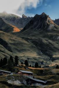 4k Landscape Mountains Countryside 5k