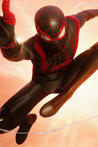 240x320 4k Marvels Spiderman Miles Morales