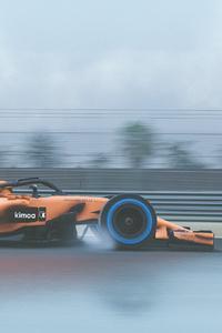 4k McLaren 2018 F1