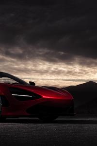 1125x2436 4k McLaren 720S 2020
