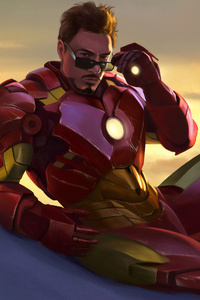 4k New Iron Man Art