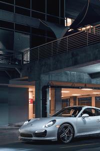 4k Porsche 911 White 2019