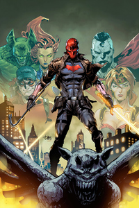 4k Red Hood Comic Art 4k