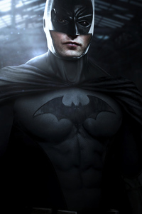 640x960 4k Robert Pattison Batman