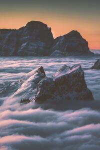 1242x2688 4k Sea Of Clouds