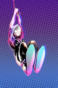 4k Spider Gwen Art