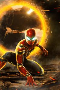 480x854 4k Spider Man 2020 Art