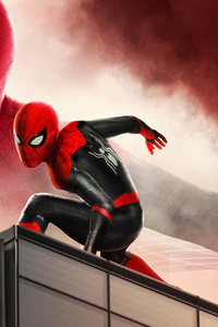 1080x2160 4k Spider Man Far Fromhome