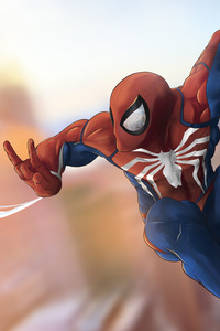 4k Spiderman Art