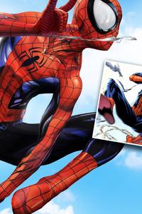 4k Spiderman New Artwork